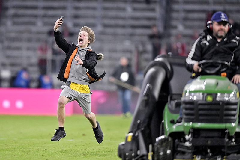 Fußball-Flitzer