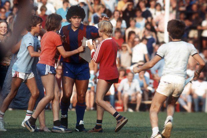 Maradona in Meppen